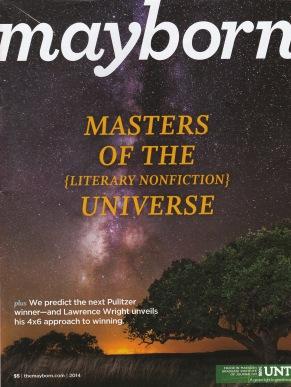 mayborn mag cover